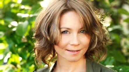 Billede af skuespiller Anne Louise Hassing, kendt fra Badehotellet
